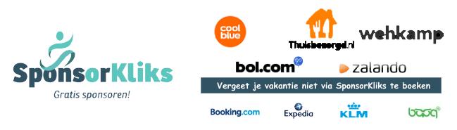 SponsorKliks.com | Gratis Sponsoren via restaurantgids dinnersite.nl, thuisbezorgd.nl. bol.com, wehkamp, zalando, booking.com, hema en vele andere shops!