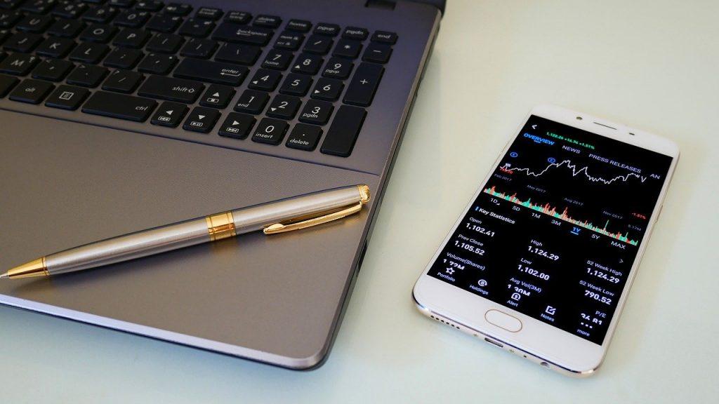 aandelen verhandelen via een mobiele app